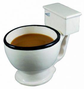 koffiemok toilet