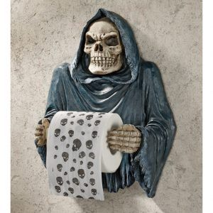toiletrolhouder skelet